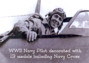 WWII Navy pilot